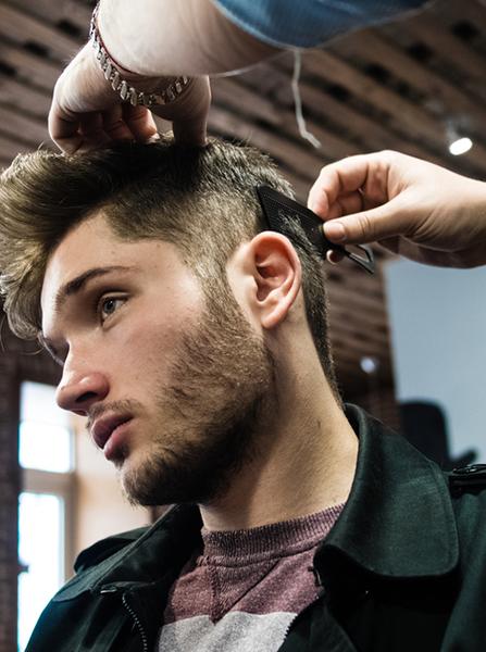 mensroom hair salon new talent