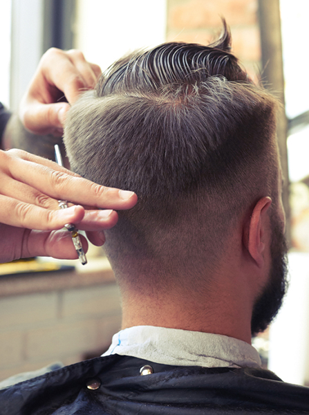 mensroom hair salon packages